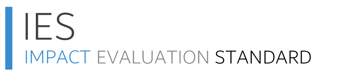Impact Evaluation Standard